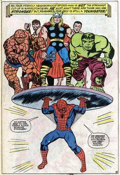 The Amazing Spider-Man Annual #4 by Stan Lee, Larry Lieber and Mike Esposito