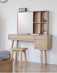 New bedroom modern furniture dressers Ideas Home Decor Furniture, Home Decor Bedroom, Modern Bedroom, Wood Furniture, Bedroom Furniture, Modern Furniture, Furniture Design, Dressing Table Design, Dressing Table Vanity