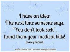 chronic illness bills - Google Search