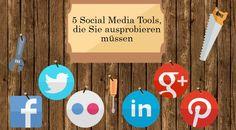Diese 5 Social Media Tools müssen Sie ausprobiere. Von Multiposting über Rezepte bis hin zur Bildersuche ist allerhand dabei, was das (Social Media) Herz begehrt.