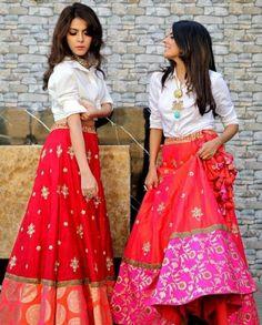 New Fashion Ilustration Indian Wear Lehenga Choli Anarkali Suits Ideas Indian Gowns Dresses, Indian Fashion Dresses, Indian Designer Outfits, Indian Outfits, Mehendi Outfits, Ethnic Outfits, Diwali Outfits, Trendy Outfits, Designer Dresses