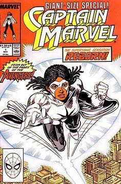 Monica Rambeau, the second Captain Marvel