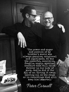Chris & Peter Cornell