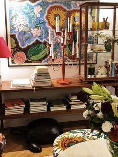 Julen 2019 på Svenskt Tenn – Joel home My Dream Home, Foyer, Cribs, Celebration, Interior Decorating, December, Japanese, Interiors, Colour