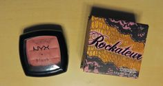 Benefit Rockateur Blush = NYX Dusty Rose                                                                                                                                                                                 More