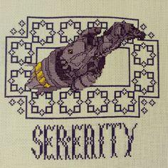 Serenity cross-stitch #Firefly