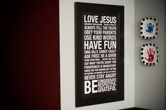 Just bought this for the hall by the boys' rooms.