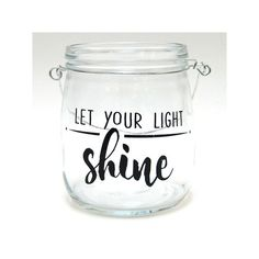 This versatile glass jar table decor is the perfect pick to hold your favorite tealight or decorative filler. Glass Jars, Mason Jars, Wooden Painting, Let Your Light Shine, Light Crafts, Jar Lights, Make And Sell, Sunday School, Creative Ideas