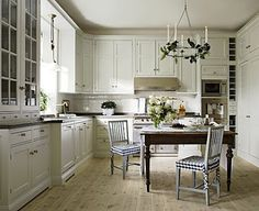 Willow Decor: Swedish Kitchens from Kvänum Kok. Seat covers.