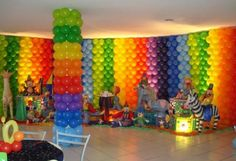 DIY- How to decorate with balloons! I have decorated for a school dance with balloons and the kids loved it! It's so fun!