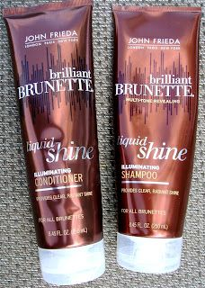 *John Frieda Brilliant Brunette Liquid Shine* right now im totally blonde, buut when im brunette, this is my shit. I've been using it since highschool, it makes your hair so soft and silky, i will blow dry it without barely any other product and it will blow dry straight and shiny with no frizz! the smell is AMAZING too, i seriously wish everything smelled like this shampoo. FYI this is not color safe if ur a dyed brunette like me- but it will leave your hair looking AWESOME. #beautytips…