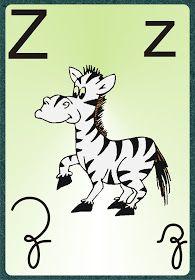 Alfabeto Iiustrado 4 Tipos De Letras Para Imprimir Gratis Con