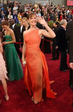 Jennifer Garner, Valentino, 2004 Oscar's