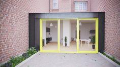 """Appartamento in stile """"industriale"""", render realizzato con 3ds Max 2014 e Vray 3.0. Postproduzione con Photoshop CS6."""