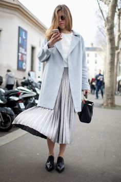 Paris Fashion Week Fall '15: Street Style