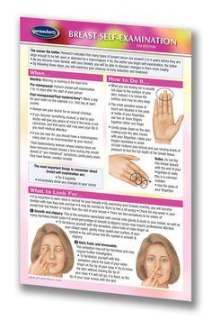 Breast Self-Examination (Pocket Size)