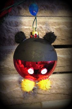 DIY Mickey Mouse Christmas Ornaments | Mickey Mouse Christmas ...