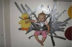 5 Tips for Baby-Proofing Your Home. What to baby proof and what to leave out. You don't want to make everything indestructible. When it comes time to baby proof . Read moreTips for Baby-Proofing Your Home Funny Babies, Funny Kids, Cute Kids, Drunk Pictures, Funny Photos, Hilarious Pictures, Baby Pictures, Chers Parents, Parenting Fail