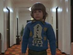 Danny's Apollo 11 knitted jumper from Stanley Kubrick's The Shining.