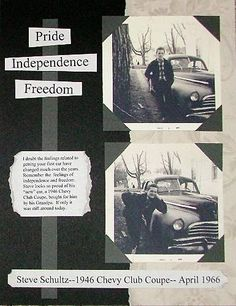 Heritage Scrapbook Pages: Jennifer's Page 2