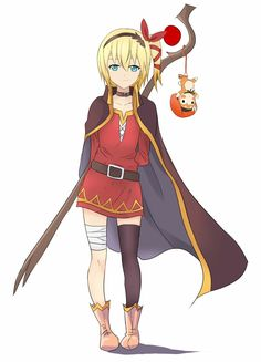 Edna wears Megumin's outfit! Too cute! XD