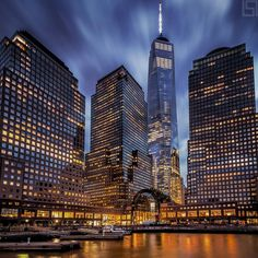 New York City Feelings - Last night's Blue Hour by @PSeibertPhoto
