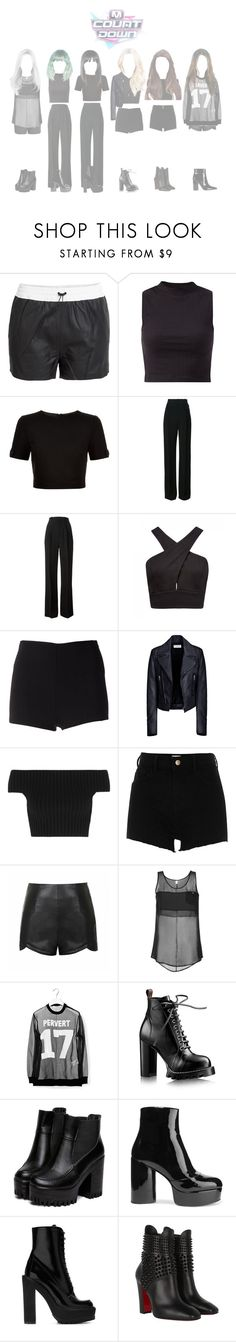 """""""┇ GOODBYE STAGE ┇ M!COUNTDOWN - CRAZY"""" by dreamcatcher-official ❤ liked on Polyvore featuring T By Alexander Wang, Ted Baker, Givenchy, Forever New, Martin Grant, Balenciaga, Michael Kors, River Island, Ally Fashion and Faith Connexion"""