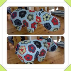 Heidi bears made this pattern for a Happypotamus :)