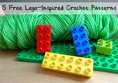5 Free Lego-Inspired Crochet Patterns