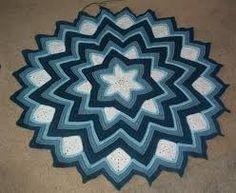 Kuvahaun tulos haulle 6-point round ripple afghan pattern