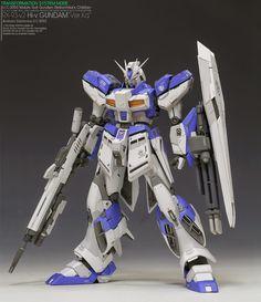 MG 1/100 Hi Nu Gundam Ver Ka - Customized Build Modeled by HERO