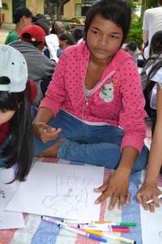 Art Camp, Cam Phuoc Tay, Vietnam, Summer 2014.