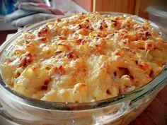 Macarrones con carne picada y bechamel, gratinados en el horno Receta de josevillalta520 - Cookpad
