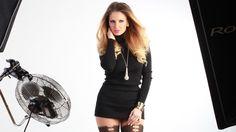 Behind the scene - Codrin Roibu and Andreea Banica / Kiss Fm ADS Kiss Fm, Behind The Scenes, Ads, Dresses, Fashion, Vestidos, Moda, Fashion Styles, Dress
