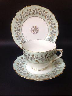Coalport Tea Cup & Saucer Minerva British Vintage China