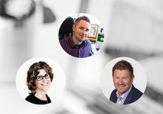 Lyyti Oy:n Petri Hollmén, Lundia Oy:n Michaela von Wendt ja Yrittäjämedioiden Kimmo Koivikko kertovat, miksi he käyttävät LinkedIniä.