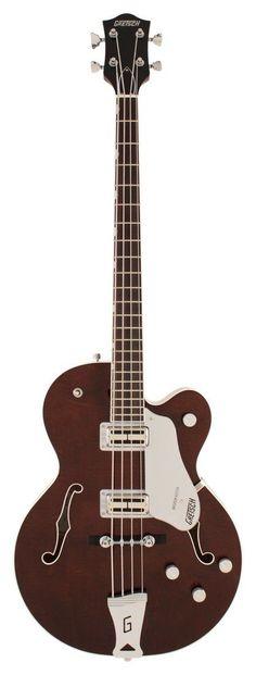 Gretsch G6119B Broadkaster Bass Guitar #bassguitar