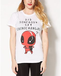 Chimichanga Deadpool Tee