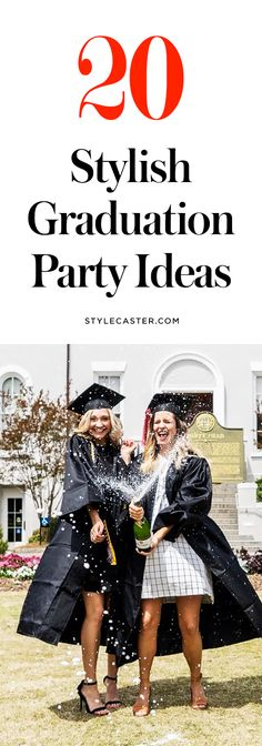 20 Stylish Graduation Party Ideas to Copy | From decor ideas to cute DIYs and desserts!