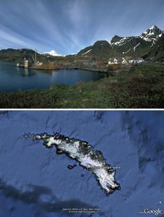 South Georgia Island Grytviken. I think I will settle down here. Cold and isolated, just like I like it.