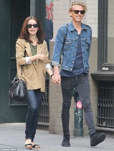 Lily Collins, Jamie Campbell Bower I am shipping on them so hard