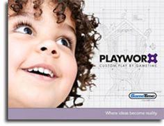 Click this picture to see the brochure for Playworx, the division of GameTime that builds the custom structures like the tree playground from the large catalog. There's no info on pricing, but it has details about the custom playground building process. Park Playground, Division, Catalog, Building, Design, Buildings, Brochures, Construction