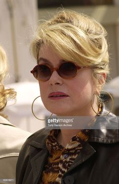 Catherine Deneuve during MIPTV 2002 - Les Liaisons Dangereuses. Catherine Deneuve, French Actress, Grow Out, Silver Hair, Beautiful People, Classy, Actresses, Elegant, Chic