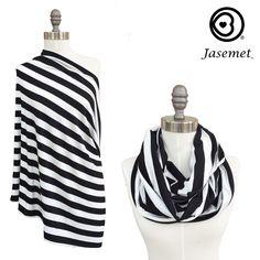 Nursing Scarf - Modern Stripes