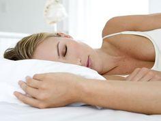 Silk or satin pillowcases prevent sleep wrinkles