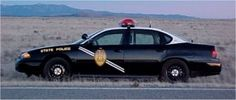 New Mexico State Police  Chevy Impala, very rare