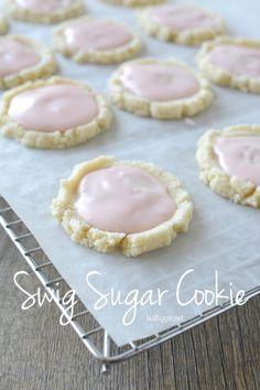 Swig style sugar cookie recipe   NoBiggie.net. One of the best cookies. Ever.