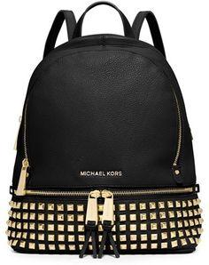 MICHAEL Michael Kors 'Small Rhea' Studded Backpack