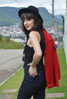 Look jeans escuro skinny blog Ela Inspira - http://www.elainspira.com.br/look-no-you-girls/