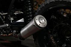 Stilmix: Der Supertrap-Enddämpfer wird gerne auch im Motocross-Sport verbaut....
